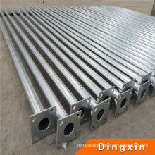 4m, 5m, 6m, 8m, 10m, 12m 13m 14m Galvanized Steel Electric Pipe